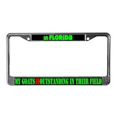 Florida Goats License Plate Frame