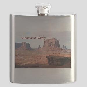 Monument Valley, John Ford's Point, Utah, US Flask