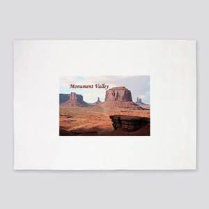 Monument Valley, John Ford's Point, 5'x7'Area Rug