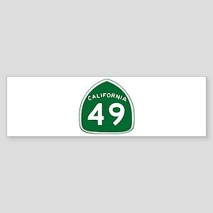 CAL 49 Bumper Sticker