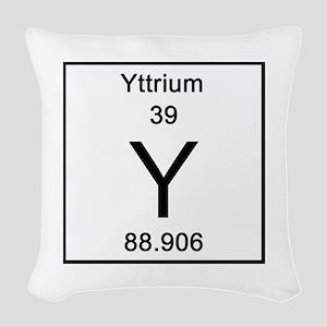 Periodic table yttrium pillows cafepress yttrium woven throw pillow urtaz Choice Image