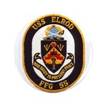 USS ELROD Button