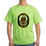 USS ELROD Green T-Shirt