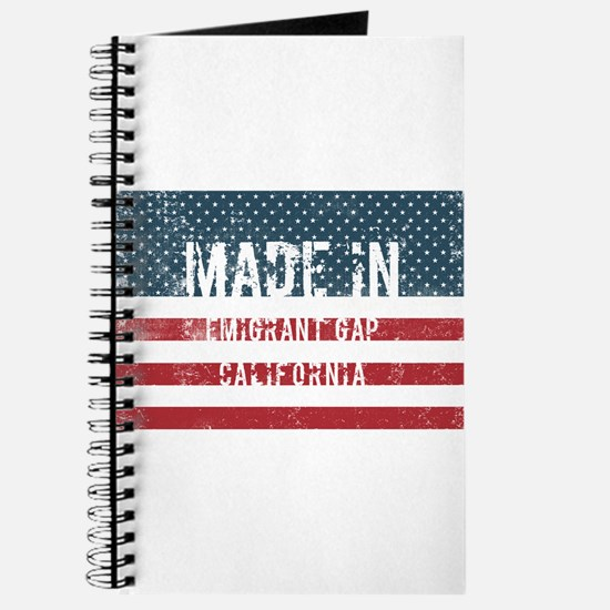 Made in Emigrant Gap, California Journal