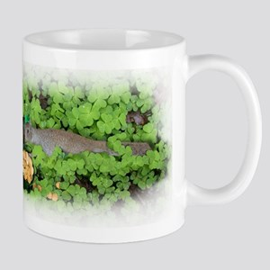 St Patrick's Day Squirrel with Pot of Gold Mugs