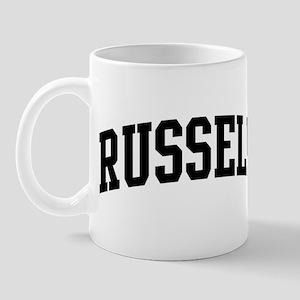 RUSSELL (curve-black) Mug