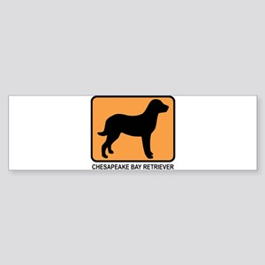 Chesapeake Bay Retriever (sim Bumper Sticker
