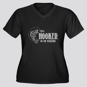 Hooker on the Weekend Plus Size T-Shirt