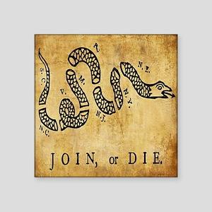 Join or Die Bandana Sticker