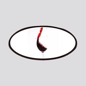 red wine minimalist photo Patches