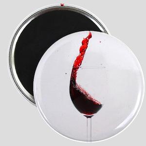 red wine minimalist photo Magnets