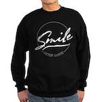 Smile Contrast Sweatshirt (dark)
