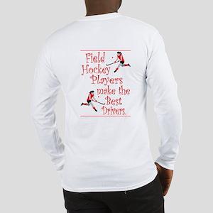 Field Hockey Drivers - Red - Long Sleeve T-Shirt