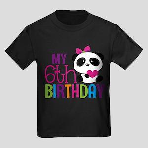 Panda 6th birthday T-Shirt