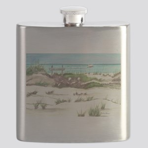 Life Is Good… Especially at the Beach Flask
