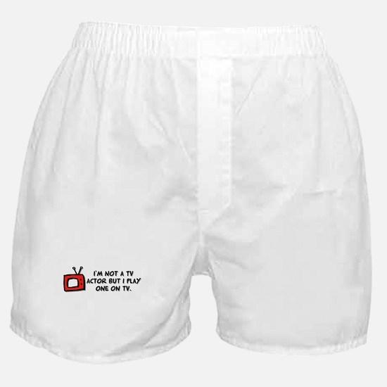 TV Actor Boxer Shorts