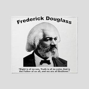 Douglass: Brethren Throw Blanket