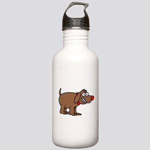 Brown Dog Stainless Water Bottle 1.0L