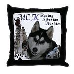 MCK Siberians Throw Pillow
