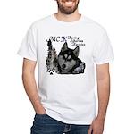 MCK Siberians White T-Shirt