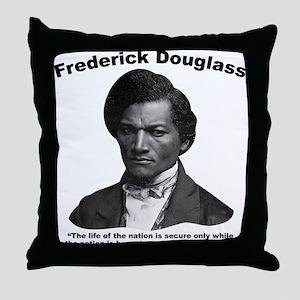 Douglass: Virtuous Throw Pillow