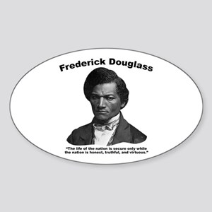 Douglass: Virtuous Sticker (Oval)