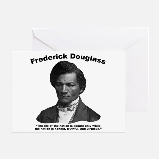 Douglass: Virtuous Greeting Card