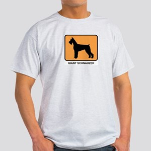 Giant Schnauzer (simple-orang Light T-Shirt