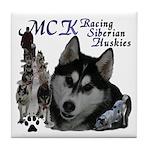 MCK Siberians Tile Coaster