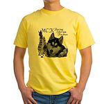 MCK Siberians Yellow T-Shirt