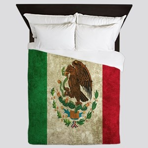 Mexican Flag Queen Duvet