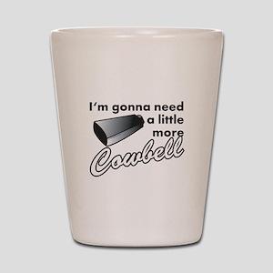 cowbell2 Shot Glass
