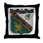 USS EDWARD MCDONNELL Throw Pillow