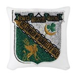 USS EDWARD MCDONNELL Woven Throw Pillow