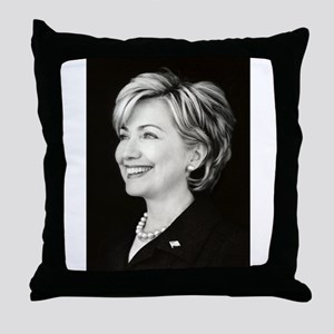 NewHillary Throw Pillow