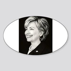 NewHillary Oval Sticker