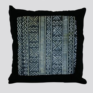 Mud Cloth Inspired Throw Pillow