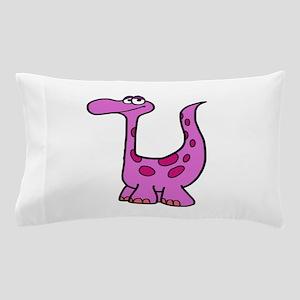 Purple Dinosaur Pillow Case