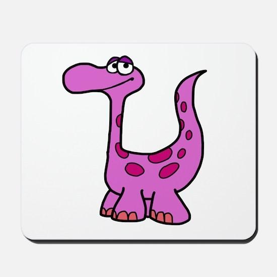 Purple Dinosaur Mousepad
