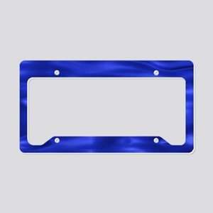 Blue Waves License Plate Holder