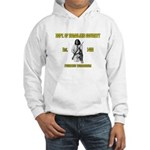 Dept. of Homeland Security Hooded Sweatshirt