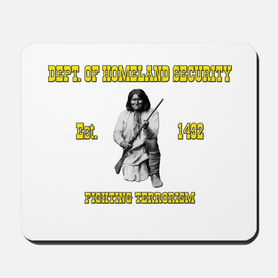 Dept. of Homeland Security Mousepad