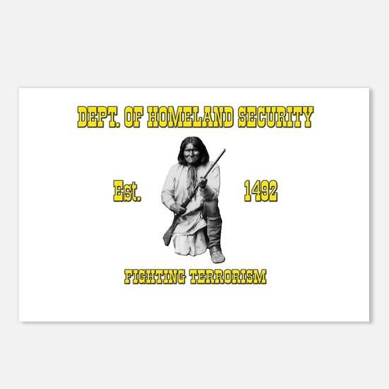 Dept. of Homeland Security Postcards (Package of 8