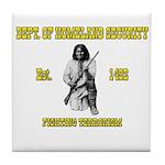 Dept. of Homeland Security Tile Coaster
