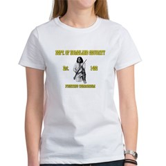 Dept. of Homeland Security Women's T-Shirt