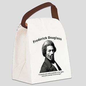 Douglass: Unite Canvas Lunch Bag