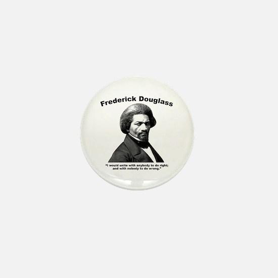 Douglass: Unite Mini Button