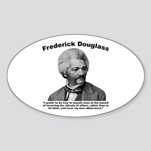 Douglass: True Sticker (Oval)