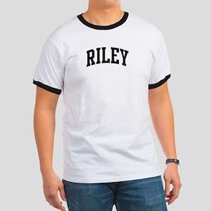 RILEY (curve-black) Ringer T