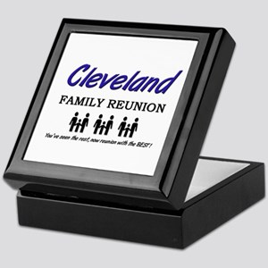Cleveland Family Reunion Keepsake Box